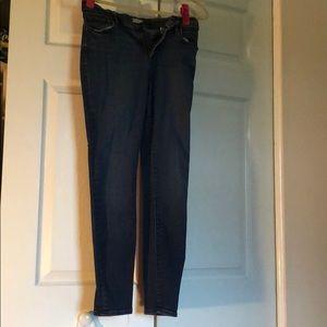 EUC ankle jeans Loft brand
